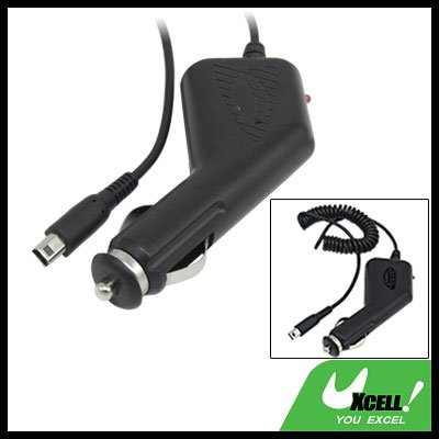 Black Car Cigarette Charger Adapter for Nintendo NDSi