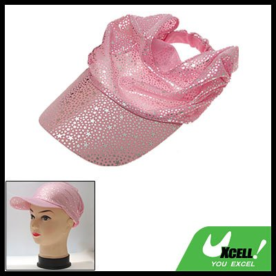 Star Pattern Soft Cloth Sun Hat Fishing Cap