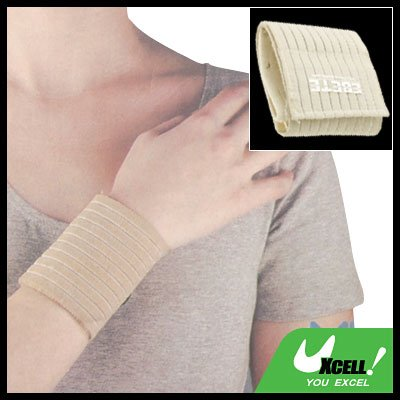 Sports Fitness Elastic Fibre Wrist Supporter Protector