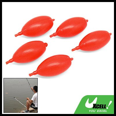3 Inch Oval Plastic Float Bobber for Minnow Fishing