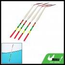 Slip Plastic Fishing Bobbers Floaters 4pcs 5.5 Inch