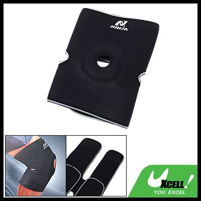Sports Velcro Fasten Neoprene Knee Support Joint Protector