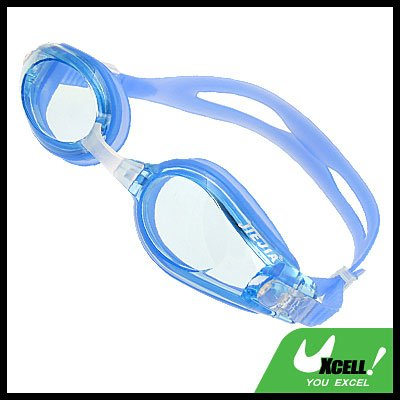 Silicone Pool Swim Swimming Goggles Anti Fog Blue