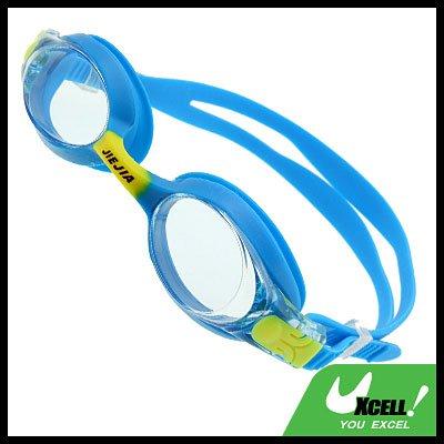 Stylish Blue Kids Swimming Pool Swim Goggles