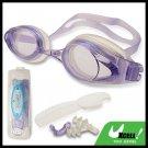 F508 Purple Swim Swimming Goggles