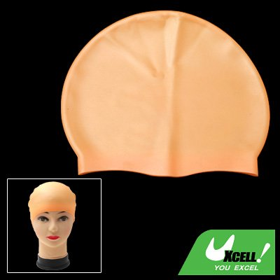 Flexible Silicone Skin Swim Swimming Cap for Swimming Lover