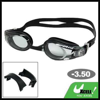 Nearsighted CorrCorrectiveective Swimming Goggles with -3.5 Lens