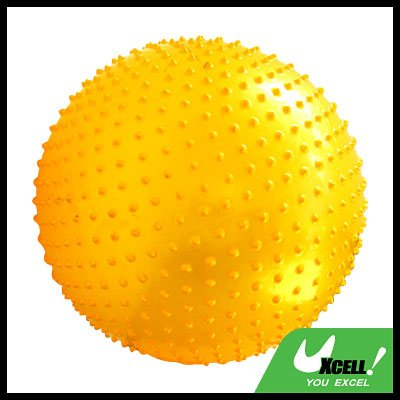 Massage Fitness Exercise Yoga Gym Ball -Golden@