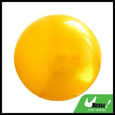 Fitness Exercise Yoga Gym Ball - Yellow@
