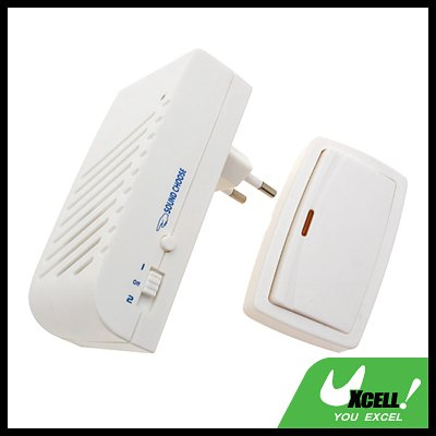 Mini Wireless Remote Control Chime Doorbell(German Plug)