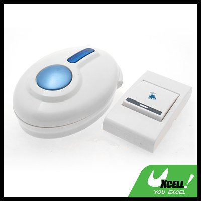 Remote Control Flash Door Bell Wireless Chime Doorbell
