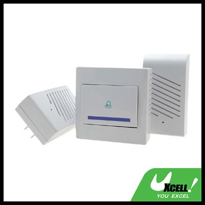 Wireless Digital Double-Doorbell Chime
