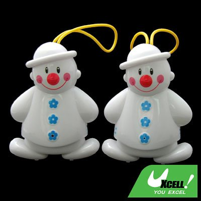 Cute Twin Snowman Wireless Doorbell Baby-Cry Detector
