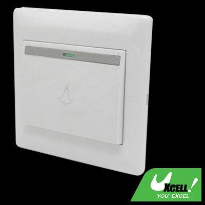 Universal Doorbell Door Bell Switch Cover Plate Wall Mount