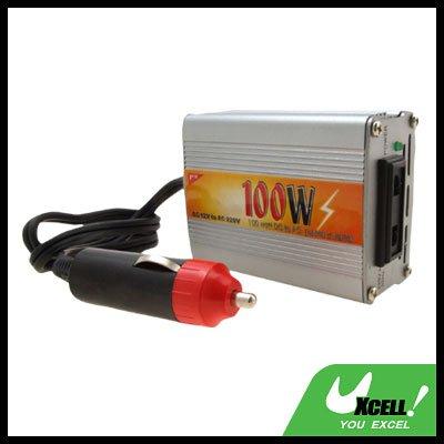 100W Car DC 12V to AC 220V Power Inverter 100 Watt