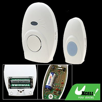 Wireless Remote Control Chime Doorbell with 16 Music Sound