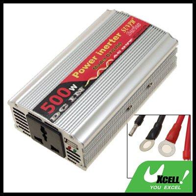 500W Car DC 12V to AC 220V + One USB2.0 Power Inverter
