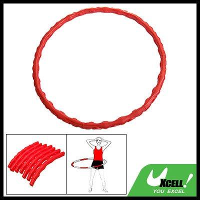 Portable Detachable Massage Sports Exercise Hoola Hula Hoop