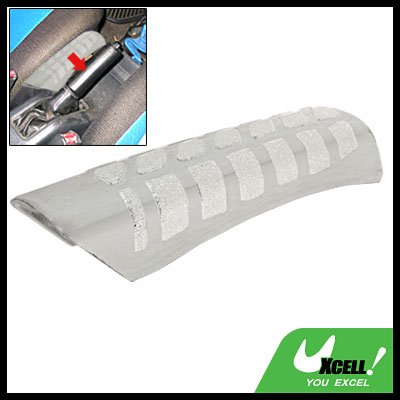 Silvery Plastic Car Auto Hand Brake Leaver Handle Cover