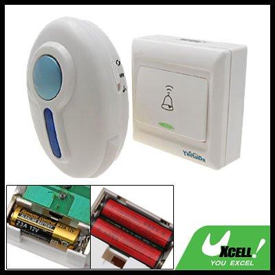 Wireless Remote Control Doorbell Door Bell Flash Light