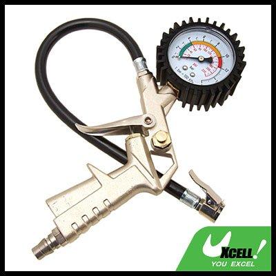 Air Tire Inflator W/ Dial Pressure Gauge