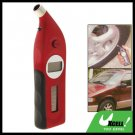 Red Solar Powered Talking LCD Digital Tire Tyre Pressure Gauge