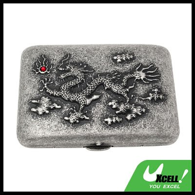 Cigarette Holding Case With Ancient Royal Dragon Motif