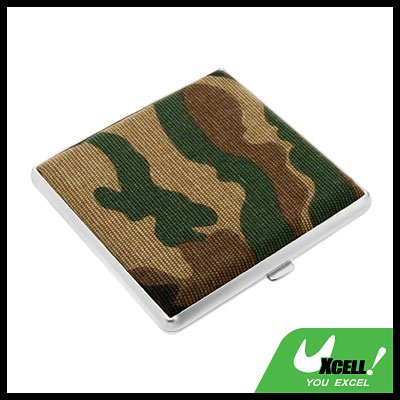 Camouflage Army Box Case Holder for  20 Cigarettes