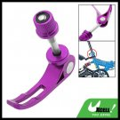 Purple Bike Bicycle Alloy Seat Quick Release Binder Bolt