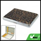 Hard Case Metal Holder 16 Cigarette with Leather Cover