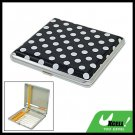 White Dots Design 20 Cigarette Hard Case Metal Holder