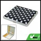White Dots Design 20 Cigarette Hard Case Metal Holder