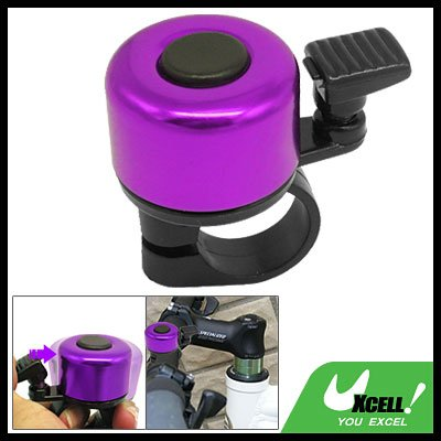 Small Mini Purple Black Columniform Bicycle Bike Bell