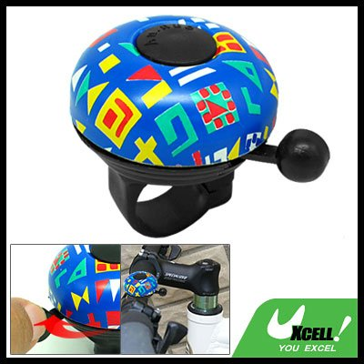 Fashion Blue Bike Bicycle Bell With Beautiful Picture Design