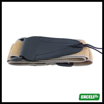 Durable Nylon Adjustable  Guitar Strap - Yellow