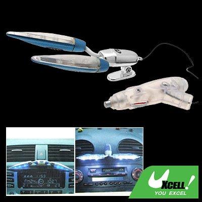 Super Bright 2 Car Auto Interior Decorative LED Lamp Light 12V (SW-3035A)