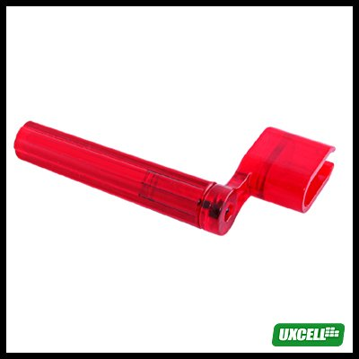 Guitar String Winder - Transparent  Red