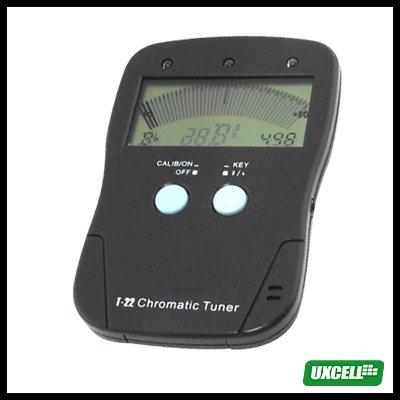 Chromatic Tuner + A4 Tone Generator for Guitar Violin (Musedo T-22)  Black
