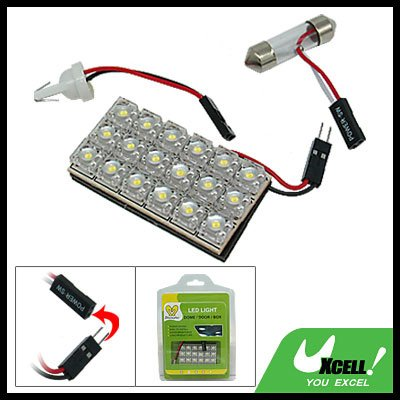 18 LED Car Auto Interior Dome Light Lamp Replacement Bulbs