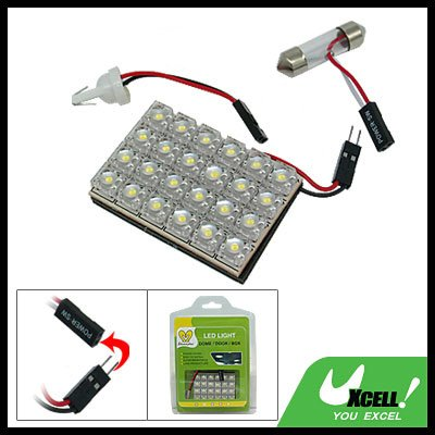 Super Bright Car Auto 24 LED Dome Light Lamp Replacement Bulbs