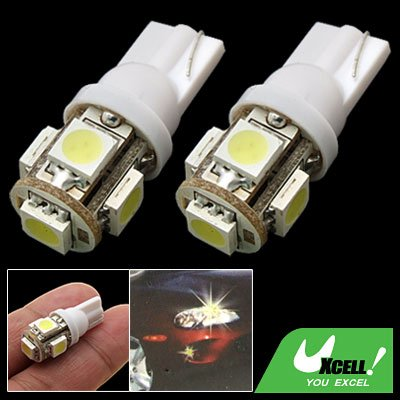 2 x 5 LED Auto Car Lamp 12V Vehicle Signal Lights