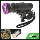 Bike Bicycle Mount Metal LED Flashlight Torch Headlight