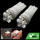 Multi-purpose 2 Pcs Wedge Auto Car White LED Bulb Light Lamp