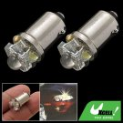 Two Pieces LED Car Auto Lamp Light Vehicle Signal Bulbs