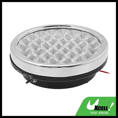 Auto Car Interior Round 37 White LED Dome Roof Lamp Light