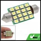 16-LED SMD Car Light Lighting System Bulb Lamp White