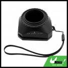 37mm Digital Video Lens Hood Cover + Cap for Sony Canon