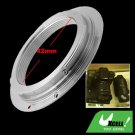 Metal M42 Lens Adapter Ring for Canon EOS 5D 40D 30D 20D