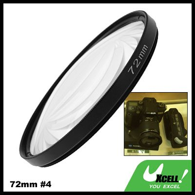 72mm +4 Close-up Attachment Lens f1000mm Filter for Nikon Canon Camera