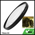 72mm +4 Close-up Attachment Lens f1000mm Filter for Nikon Canon Camera